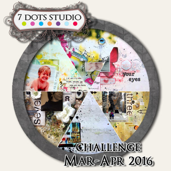 March challenge – Parts of Your Face – 7 dots studio