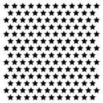 Cotton Candy Dreams - Stars Stencil