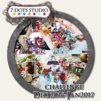 7 Dots Studio - December Challenge