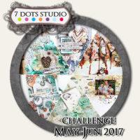 7 Dots Studio - May Challenge 2017