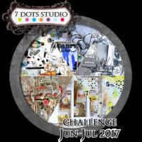7 Dots Studio - June Challenge 2017